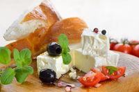 Käsesnack griechisch