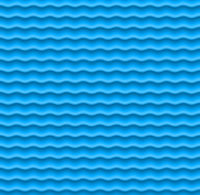 Seamless wave background in blue shades. Geometric.