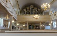 Innenaufnahme der evangelischen Dreikönigskirche