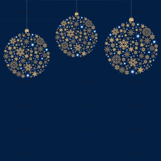 Christmas card With Ball