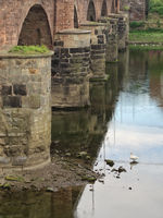 Trier - Römerbrücke, Deutschland