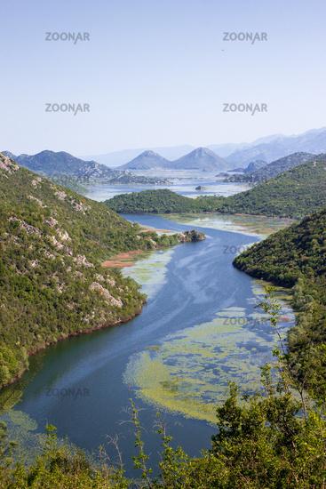 Rijeka Crnojevica, Skadar Lake National Park, Montenegro