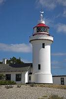 Leuchtturm Sletterhage an der Ostküste Dänemarks