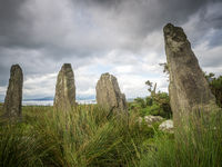 Stone circle of ardgroom peninsula beara Ireland