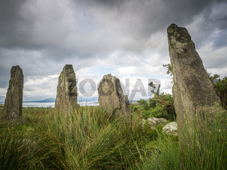 Stone circle of ardgroom peninsula beara Ireland