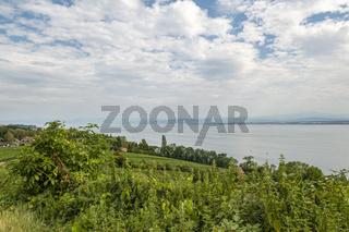 Bodensee bei Meersburg, Deutschland, Lake Constance near of Meersburg, Germany