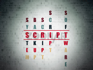 Programming concept: Script in Crossword Puzzle