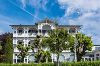 Haus in Göhren auf der Insel Rügen
