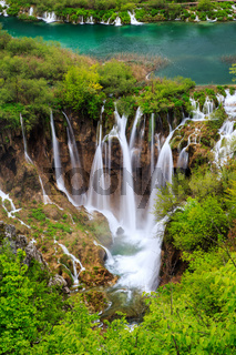 Waterfalls in Plitvice National Park