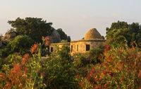 Stein-Bungalow für Gäste der Gheralta-Lodge, Hawzien, Tigray, Äthiopien