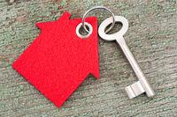 house key on ring
