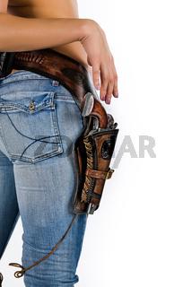Denim And Gun