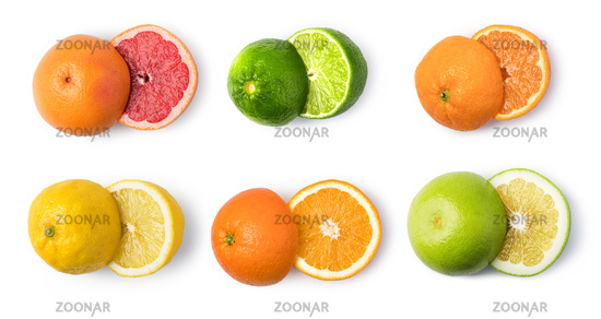 citrus fruit set