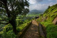 Steps at Bhaja Caves