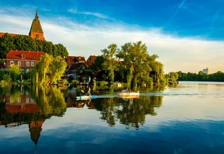 der Stadtsee in Mölln
