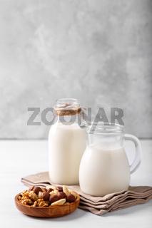 Healthy natural non dairy milk