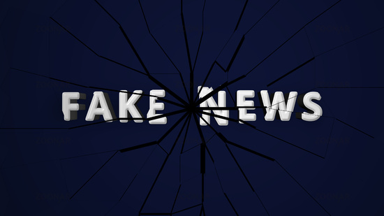 fake news animated script that breaks, animation