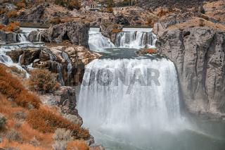 Shoshone Falls, Twin Falls. Idaho powerful waterfalls