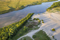 Dismal River flowing through Nebraska Sandhills