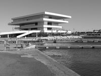 Veles E Vents. Building at the harbour in Valencia, Spain.