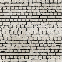 Realistic grunge bricks in worn out brick wall seamless pattern