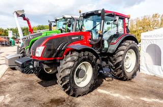 Agricultural wheeled tractor Valtra