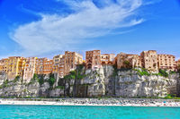 The city of Tropea in the Province of Vibo Valentia