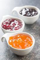 Fruity jam jelly.