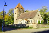 Dorfkirche Weesow bei Werneuchen, Brandenburg, Deutschland