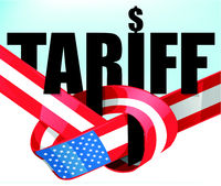 United States flag tariffs .protectionist trade