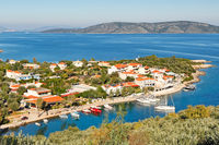 The port at Steni Vala of Alonissos, Greece