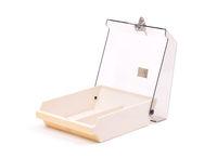 Empty floppy disk box