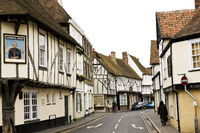 view of strand street sandwich kent featuring tudor buildings