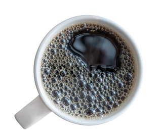Mug Of Fresh Black Coffee