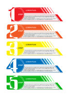 Infographics to illustrate the plan, strategy, business development ideas
