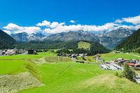 Der schöne Ort Niederthai, Ötztal, Osttirol