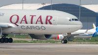 Qatar Airways Cargo taxiing