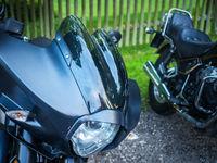 Motorräder mit Windschild