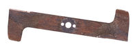 Lawn mower blade, old and used