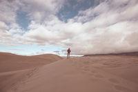 Hike in the desert