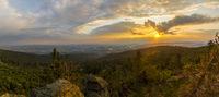 Sonnenuntergang am Dreisessel