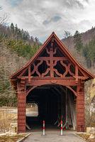 Historische Holzbrücke