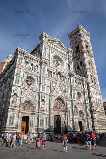 Panoramic view of Cattedrale di Santa Maria del Fiore