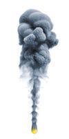 smoke isolated on white background