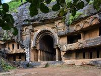Chaityagriha at Bhaja Caves XII