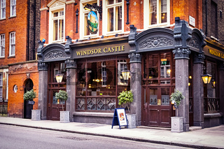 The 'Windsor Castle' pub