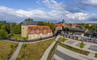 Schloss Harzgerode im Selketal Harz