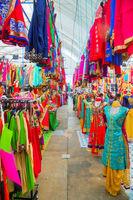 Little India quarter market in Singapore