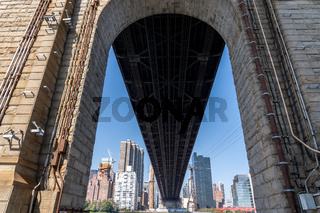 Queensboro Bridge Arch in New York City