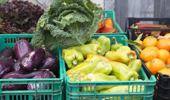Obstmarkt und Gemüsemarkt